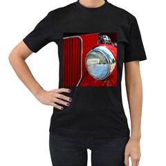 Antique Car Auto Roadster Old Women s T Shirt (black)