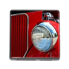 Antique Car Auto Roadster Old Memory Card Reader (square)