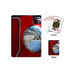 Antique Car Auto Roadster Old Playing Cards (Mini)