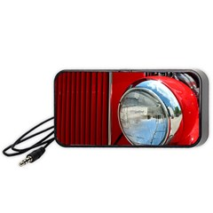Antique Car Auto Roadster Old Portable Speaker (Black)
