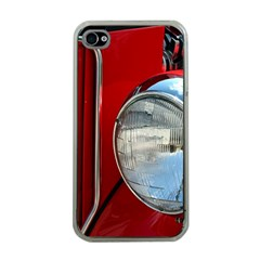 Antique Car Auto Roadster Old Apple Iphone 4 Case (clear)