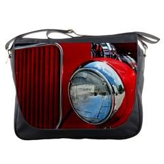 Antique Car Auto Roadster Old Messenger Bags