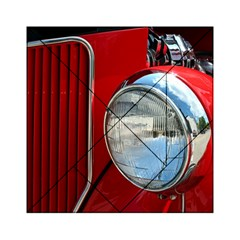 Antique Car Auto Roadster Old Acrylic Tangram Puzzle (6  X 6 )