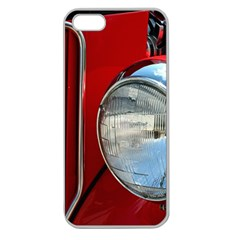 Antique Car Auto Roadster Old Apple Seamless Iphone 5 Case (clear)