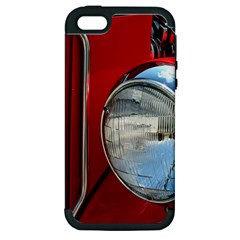 Antique Car Auto Roadster Old Apple iPhone 5 Hardshell Case (PC+Silicone)
