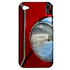 Antique Car Auto Roadster Old Apple Iphone 4/4s Hardshell Case (pc+silicone)