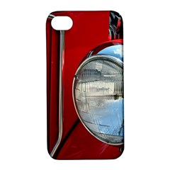 Antique Car Auto Roadster Old Apple Iphone 4/4s Hardshell Case With Stand