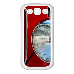 Antique Car Auto Roadster Old Samsung Galaxy S3 Back Case (white)