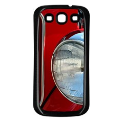 Antique Car Auto Roadster Old Samsung Galaxy S3 Back Case (black)