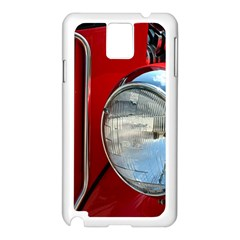 Antique Car Auto Roadster Old Samsung Galaxy Note 3 N9005 Case (white)