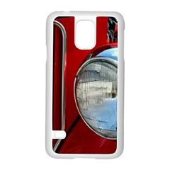 Antique Car Auto Roadster Old Samsung Galaxy S5 Case (white)