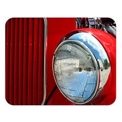 Antique Car Auto Roadster Old Double Sided Flano Blanket (large)
