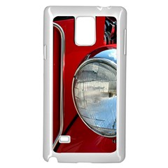 Antique Car Auto Roadster Old Samsung Galaxy Note 4 Case (white)