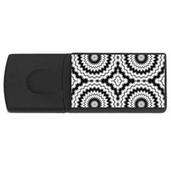 Pattern Tile Seamless Design USB Flash Drive Rectangular (2 GB)