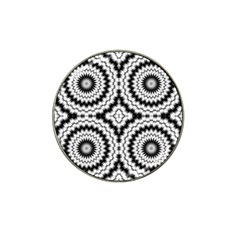 Pattern Tile Seamless Design Hat Clip Ball Marker (10 Pack)
