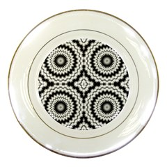 Pattern Tile Seamless Design Porcelain Plates