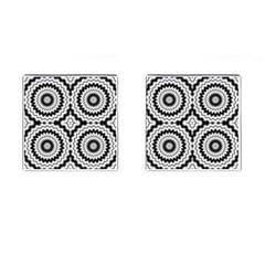 Pattern Tile Seamless Design Cufflinks (square)