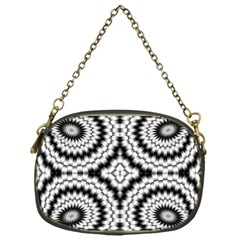 Pattern Tile Seamless Design Chain Purses (one Side)