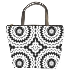 Pattern Tile Seamless Design Bucket Bags