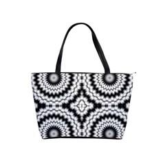 Pattern Tile Seamless Design Shoulder Handbags