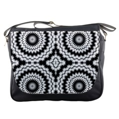 Pattern Tile Seamless Design Messenger Bags
