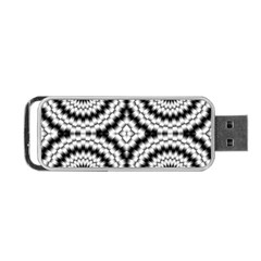 Pattern Tile Seamless Design Portable Usb Flash (one Side)