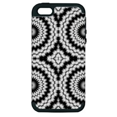 Pattern Tile Seamless Design Apple Iphone 5 Hardshell Case (pc+silicone)