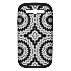 Pattern Tile Seamless Design Samsung Galaxy S III Hardshell Case (PC+Silicone)