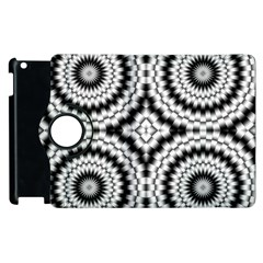 Pattern Tile Seamless Design Apple Ipad 2 Flip 360 Case