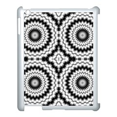 Pattern Tile Seamless Design Apple Ipad 3/4 Case (white)