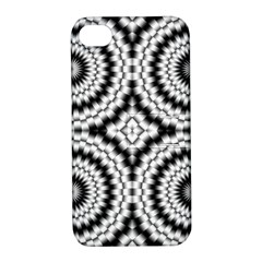 Pattern Tile Seamless Design Apple Iphone 4/4s Hardshell Case With Stand