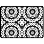 Pattern Tile Seamless Design Double Sided Fleece Blanket (Large)  80 x60 Blanket Front