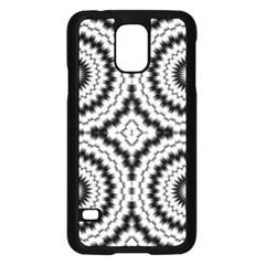 Pattern Tile Seamless Design Samsung Galaxy S5 Case (Black)