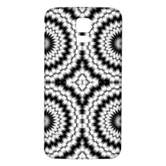 Pattern Tile Seamless Design Samsung Galaxy S5 Back Case (white)