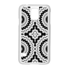 Pattern Tile Seamless Design Samsung Galaxy S5 Case (white)