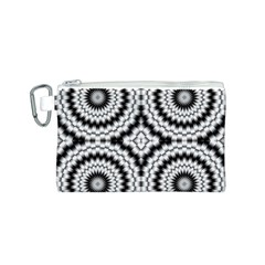 Pattern Tile Seamless Design Canvas Cosmetic Bag (S)