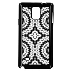 Pattern Tile Seamless Design Samsung Galaxy Note 4 Case (black)