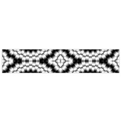 Pattern Tile Seamless Design Flano Scarf (small)