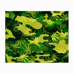 Marijuana Camouflage Cannabis Drug Small Glasses Cloth (2-Side)