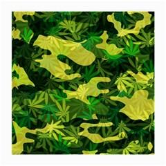Marijuana Camouflage Cannabis Drug Medium Glasses Cloth (2 Side)