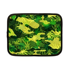 Marijuana Camouflage Cannabis Drug Netbook Case (small)