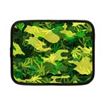 Marijuana Camouflage Cannabis Drug Netbook Case (Small)  Front