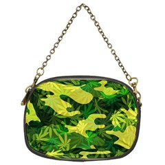 Marijuana Camouflage Cannabis Drug Chain Purses (Two Sides)