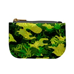 Marijuana Camouflage Cannabis Drug Mini Coin Purses