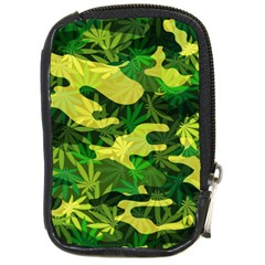 Marijuana Camouflage Cannabis Drug Compact Camera Cases