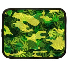 Marijuana Camouflage Cannabis Drug Netbook Case (xxl)