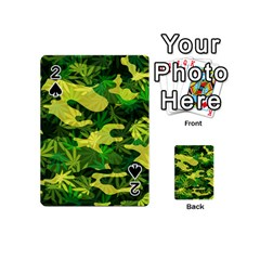 Marijuana Camouflage Cannabis Drug Playing Cards 54 (mini)