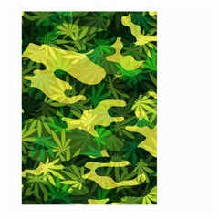 Marijuana Camouflage Cannabis Drug Large Garden Flag (two Sides)