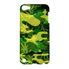 Marijuana Camouflage Cannabis Drug Apple Ipod Touch 5 Hardshell Case