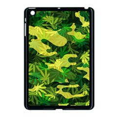 Marijuana Camouflage Cannabis Drug Apple iPad Mini Case (Black)